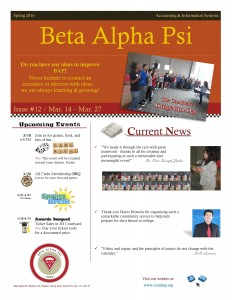 BAP Newsletter Issue 12